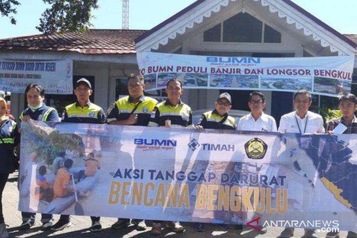 PT Timah kerahkan tim medis bantu korban banjir Bengkulu