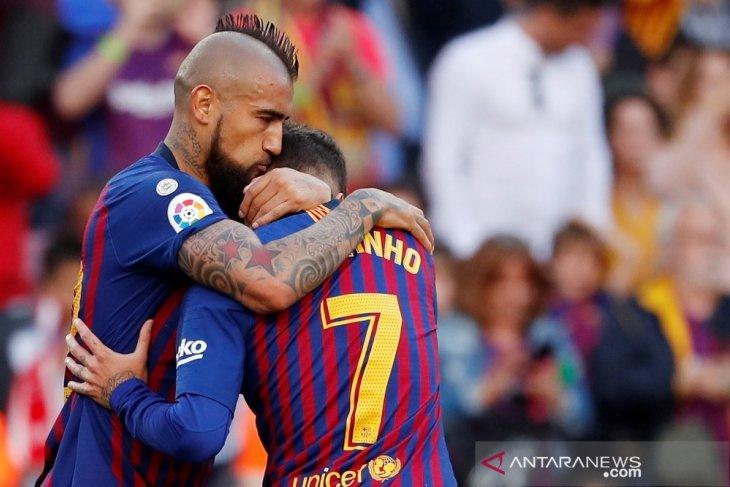Vidal dan  Sanchez memiimpin  Chile ke Copa America