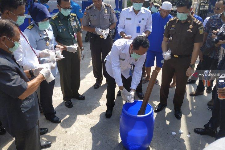 BNN Provinsi Kalbar musnahkan barang bukti sabu 1,3 kilogram