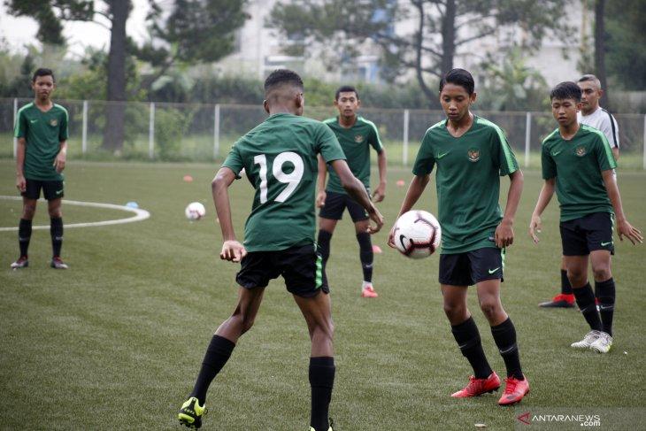 Termasuk Tristan Alif, Timnas U-16 coret 13 pemain