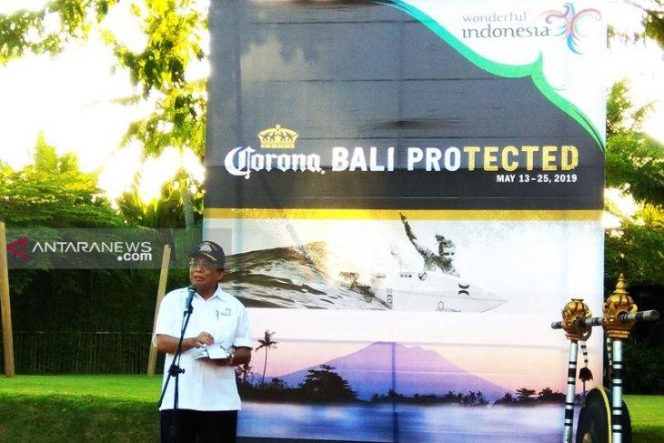 Tahun lalu, kejuaraan selancar dunia di Bali ditonton 5 juta orang
