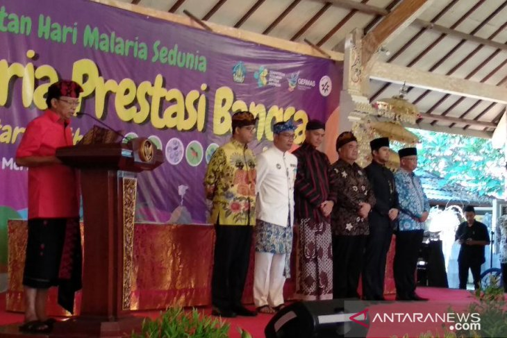 Tujuh Gubernur Jawa-Bali komitmen eliminasi malaria (video)