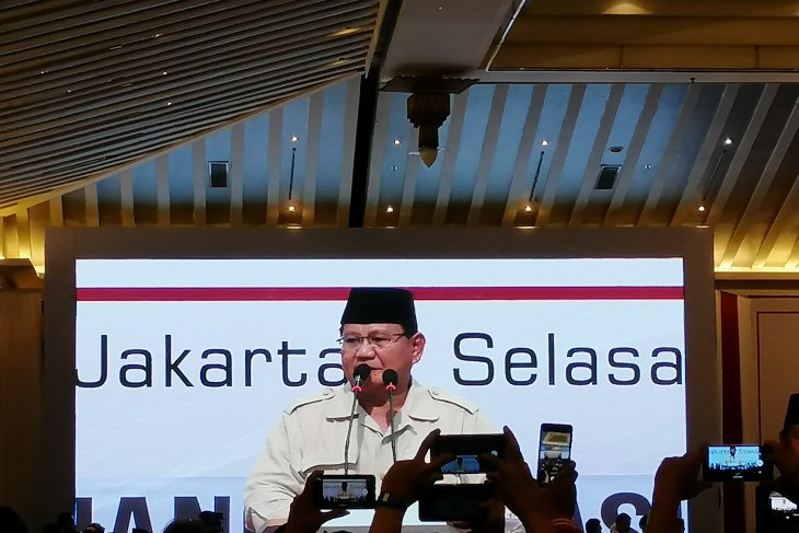 Gerindra sebut Prabowo belum berencana ketemu Jokowi
