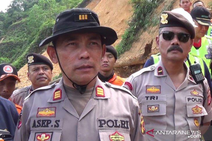 Police confirm two dead in landslide at Bogor illegal mining site