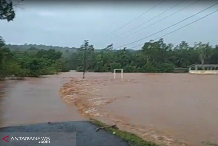 Banjir rendam rumah warga Lagan Bungin Bengkulu Tengah