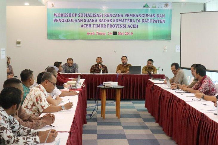 Pemkab Aceh Timur dukung suaka badak sumatra