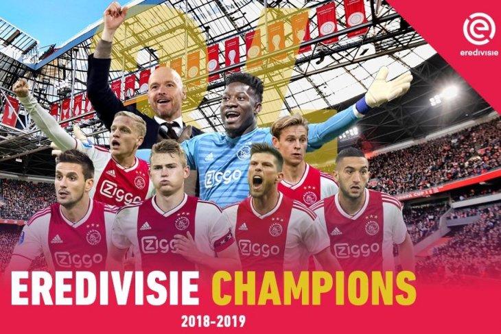 Daftar juara-juara Liga Belanda