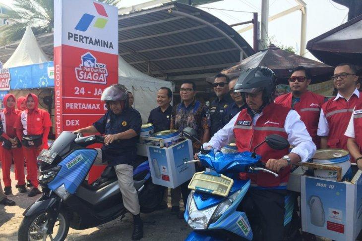 Pertamina readies 112 service points along Trans Java toll road