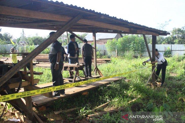 Mabes Polri amankan 2.000 M3 kayu meranti olahan hasil pembalakan liar