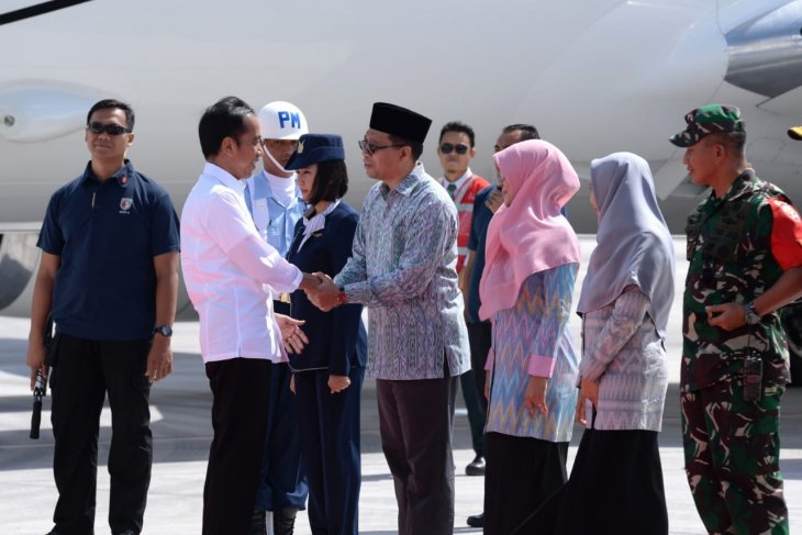 Jokowi visits Mandalika to review latest facilities