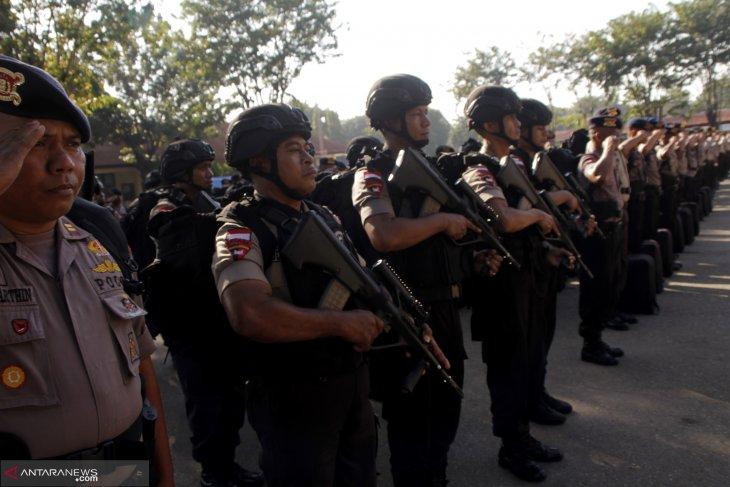 Polda NTT kembali kirimkan ratusan personelnya ke Jakarta