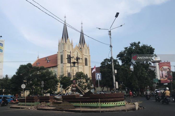 Rekonstruksi Taman Chairil Anwar ditargetkan rampung Juli 2019