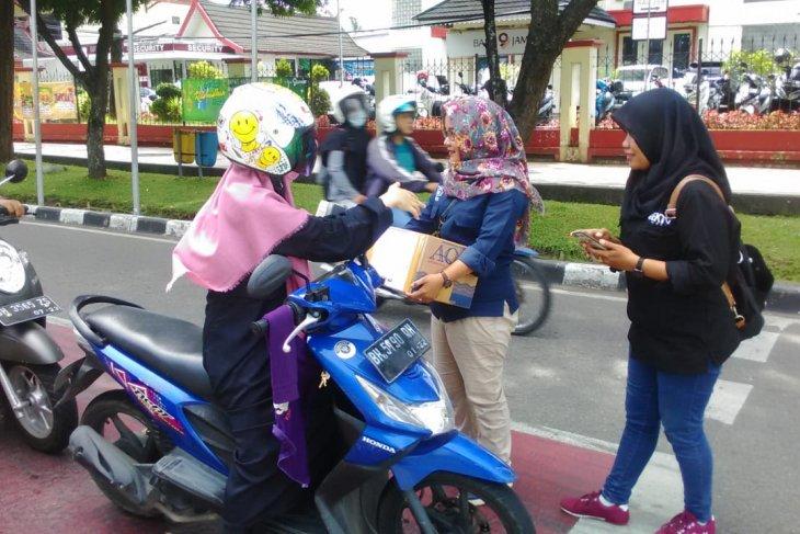 Jurnalis Jambi galang dana untuk warga Pangkal Duri