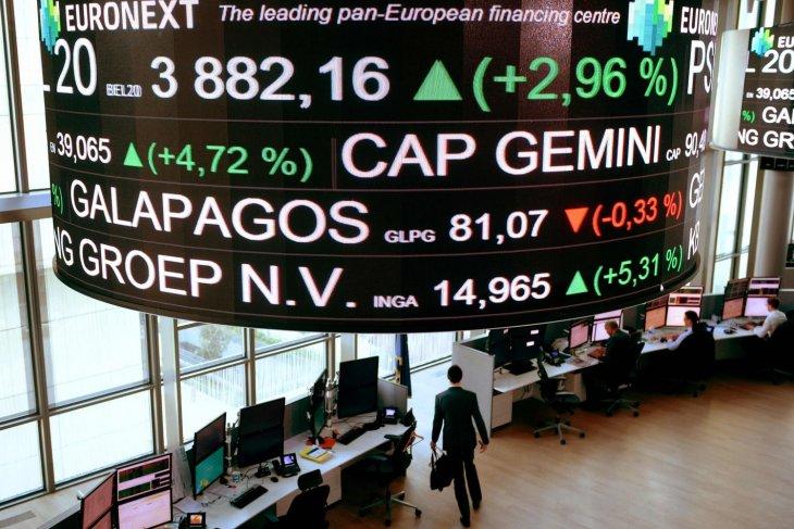 Saham Prancis bangkit dengan  Indeks CAC 40 ditutup melonjak 2,03 persen