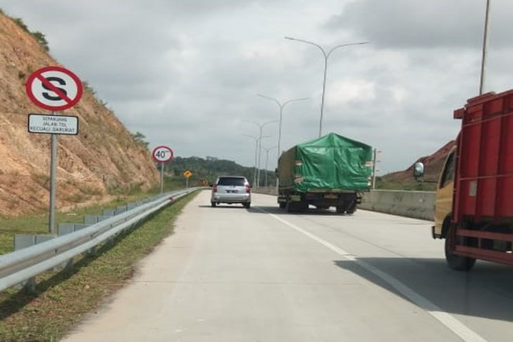 Police to apply odd-even system on Trans Sumatra toll road