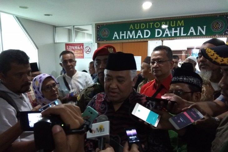 Din Syamsuddin sebut