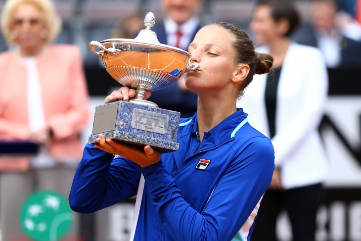 Petenis Pliskova juarai Italia Open
