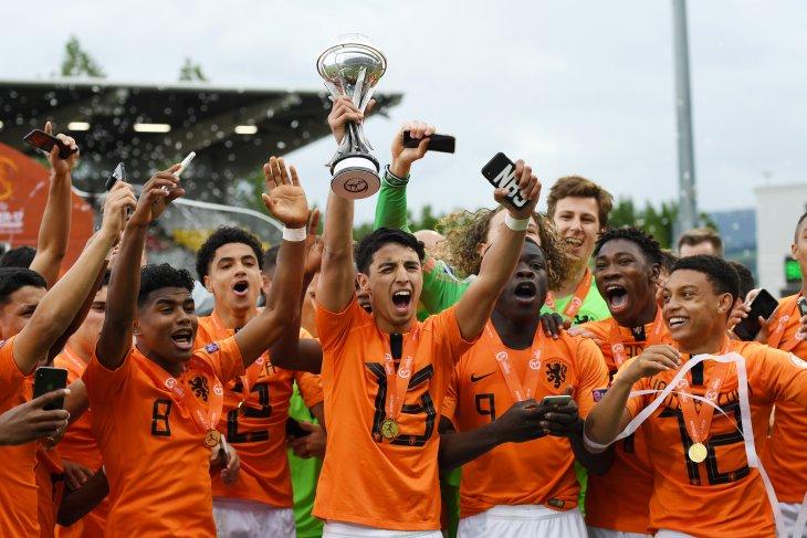 Tim Belanda pertahankan gelar juara Eropa U-17
