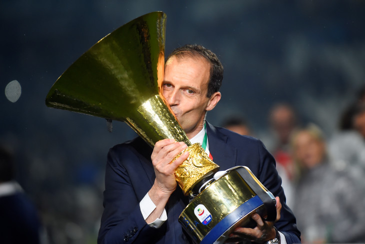 Allegri akui Juventus bukan unggulan juara