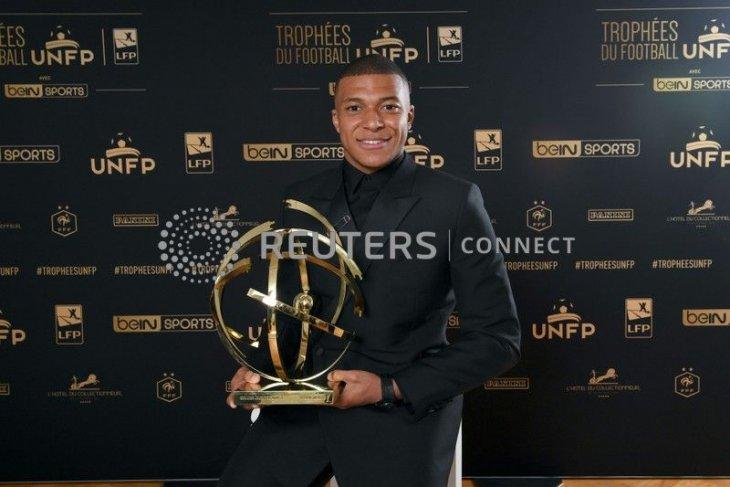 Kylian Mbappe pemain terbaik Liga Prancis