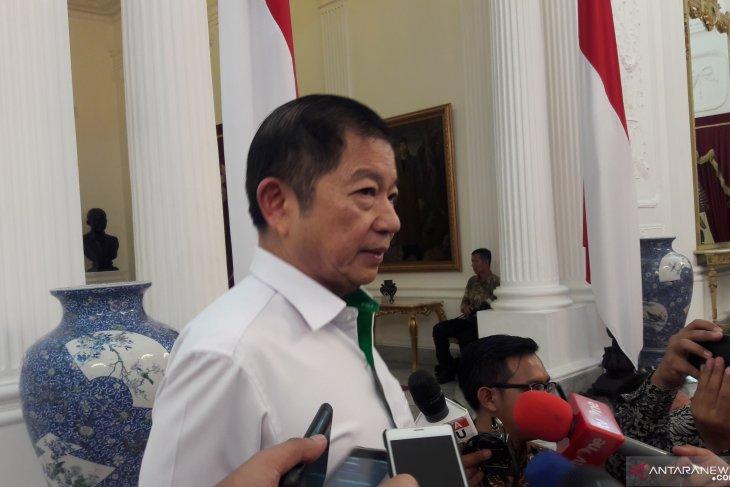 Ucapan selamat sejumlah ketua partai kepada Jokowi
