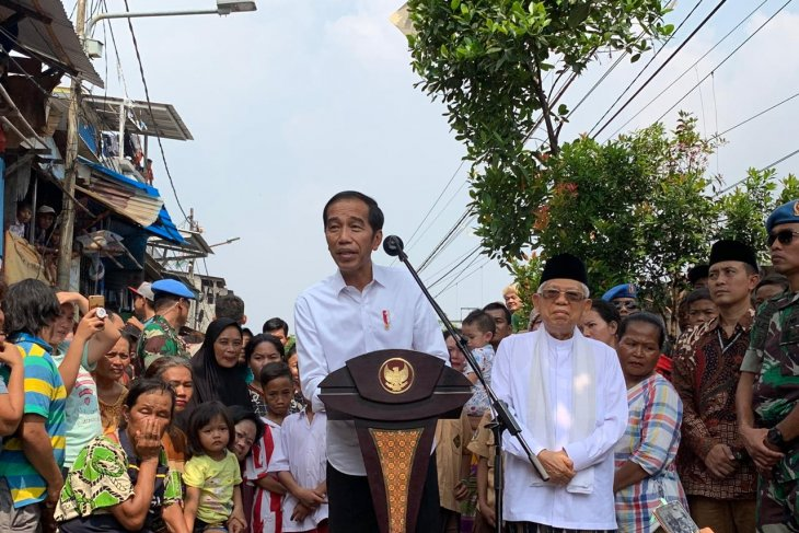 Jokowi affirms victory, vows delivering social justice for Indonesians