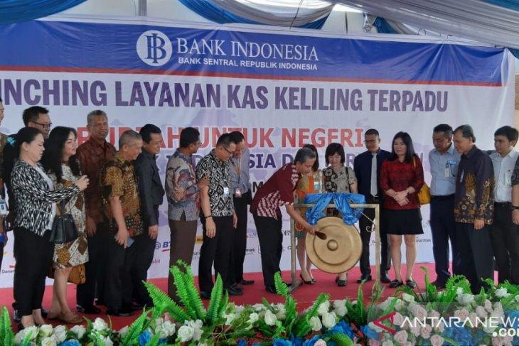 Bank Indonesia luncurkan 70 titik  layanan kas keliling terpadu
