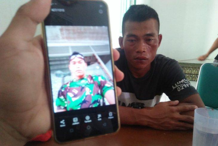 Satgas Pamtas amankan pria mengaku TNI untuk pikat wanita