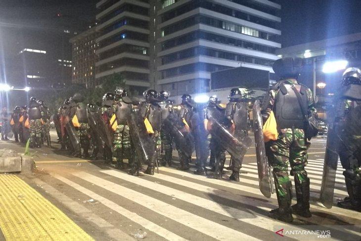 Situasi sekitar gedung Bawaslu RI kembali kondusif