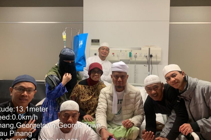 Ustadz Arifin Ilham meninggal di Malaysia