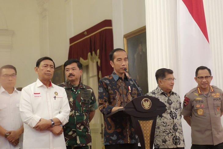 Jokowi tanggapi usul percepat pertemuan dengan Prabowo