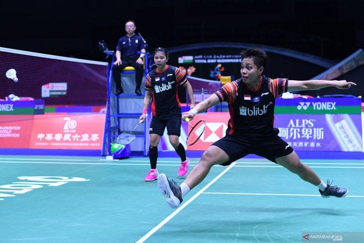 Greysia/Apriyani equalize 2-2 over Taiwan in Sudirman Cup