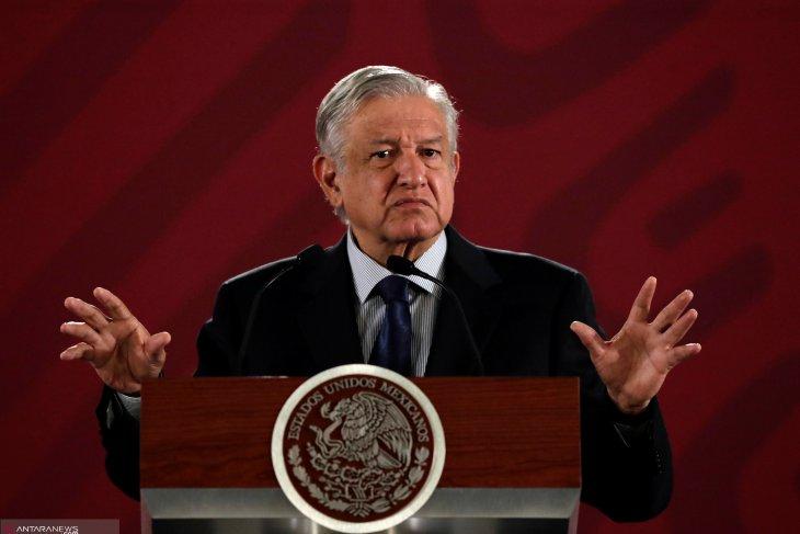 Presiden Meksiko positif tertular virus corona