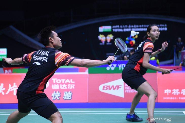 Dua ganda campuran Indonesia  melaju ke perempat final Australia Open