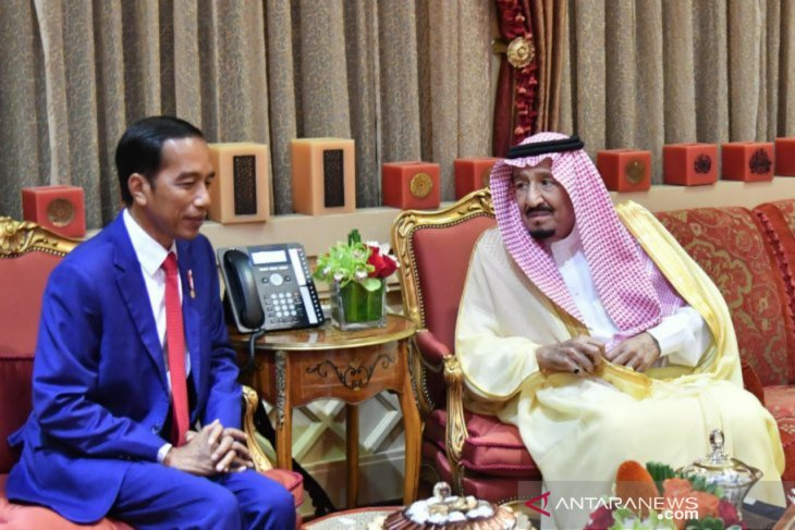 King Salman extends congratulations to President Jokowi