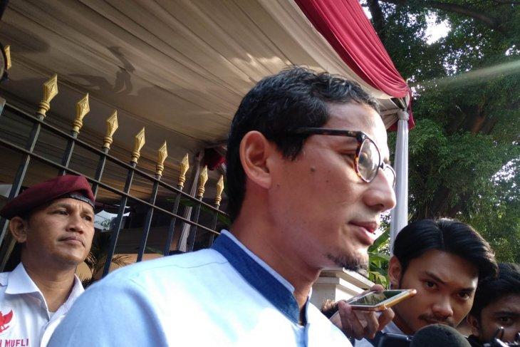 Sandiaga: pertemuan Prabowo-JK bagian komunikasi politik