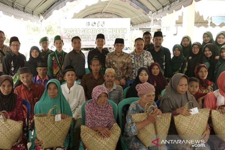 Keluarga besar KAHMI dan HMI Cabang Kandangan gelar Ramadhan peduli