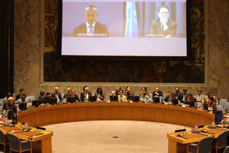 Indonesian FM chairs UNSC meeting on Middle East situation
