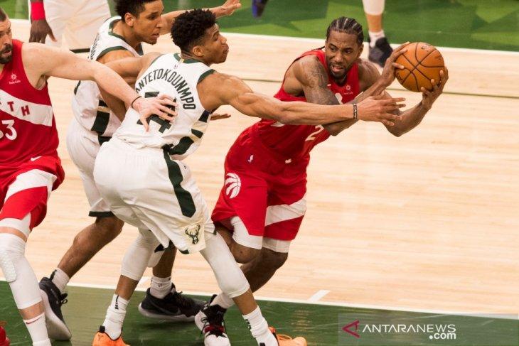 Raptors berbalik ungguli Bucks 3-2 pada  final Wilayah Timur NBA