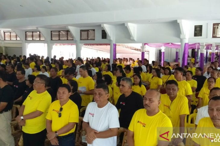 Sangihe discharges 12 tainted civil servants from active duty