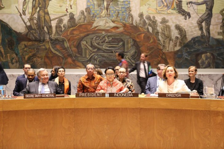 Indonesia affirms support for protection of civilians
