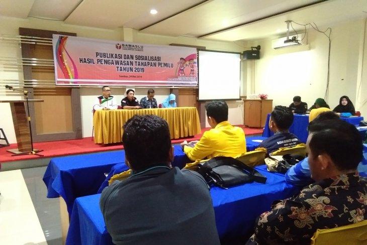Bawaslu Sambas publikasikan hasil pengawasan pada Pemilu 2019