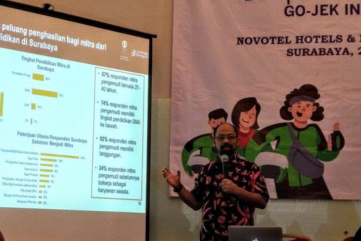 Riset: GoJek di Surabaya berkontribusi Rp15,7 triliun pada 2019