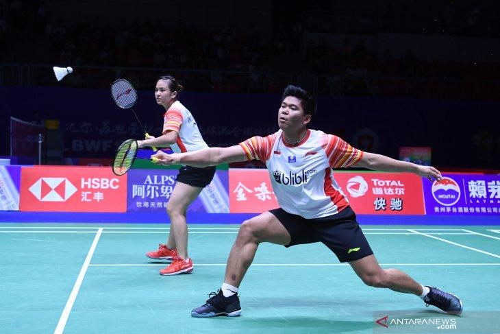 Bekuk Taiwan, Indonesia melaju ke semifinal Piala Sudirman 2019