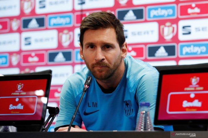 Messi akhirnya buka suara tentang kekalahan dari Liverpool