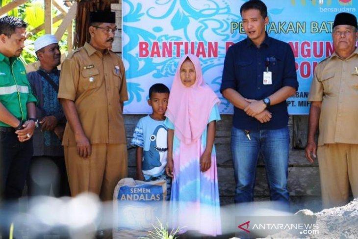 Mifa Bersaudara mulai bangun rumah untuk kaum duafa di Aceh Barat