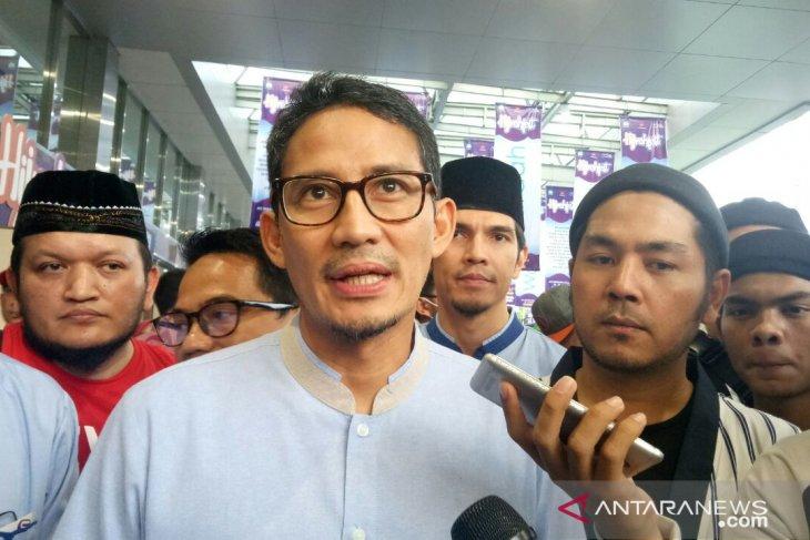 Komentar Sandiaga Uno soal penangkapan anggota BPN