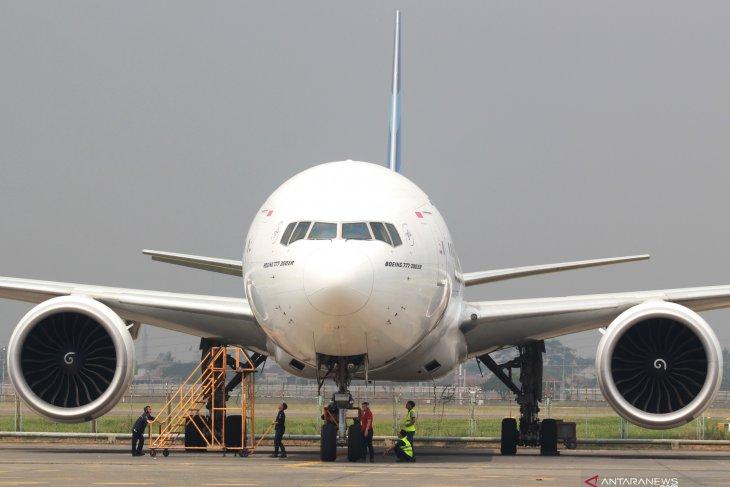 Maskapai Garuda cabut larangan memotret di pesawat