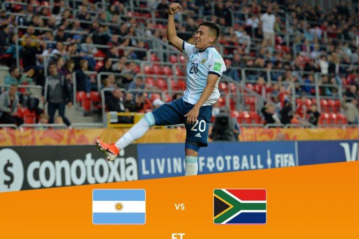 Argentina mengawali Piala Dunia U-20 dengan kalahkan Afsel 5-2