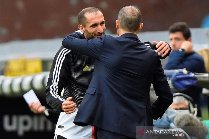 Juventus telan kekalahan di laga perpisahan Allegri